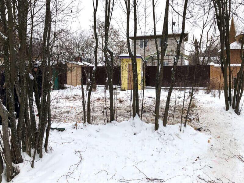 Демонтаж деревянного дома в районе Галицино