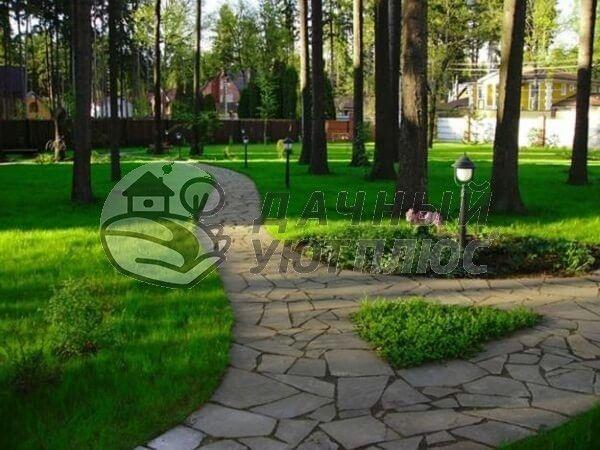 Озеленение и благоустройство территории участков Московской области