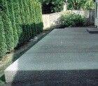 Устройство бетонной площадки на даче