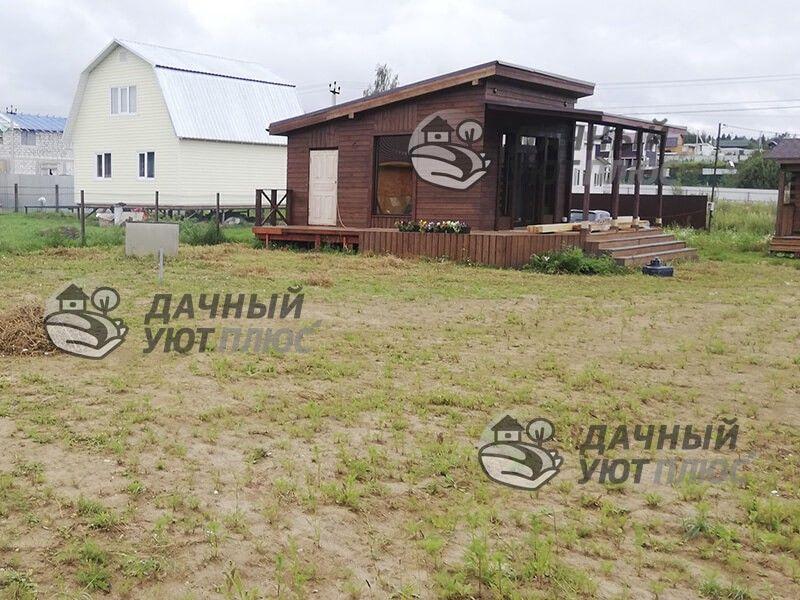 Благоустройство газона Московская область вид участка до проведения работ