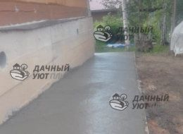Отмостка дома в Московской области