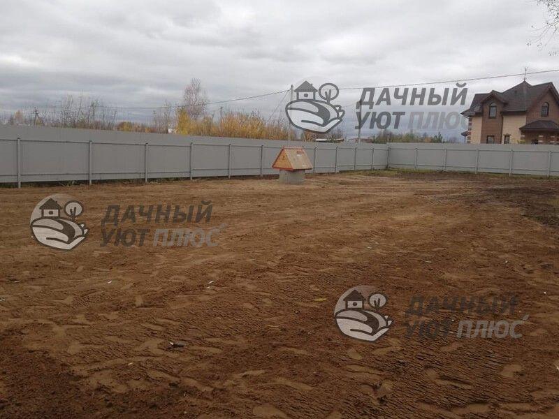 Планировка участка Золотово