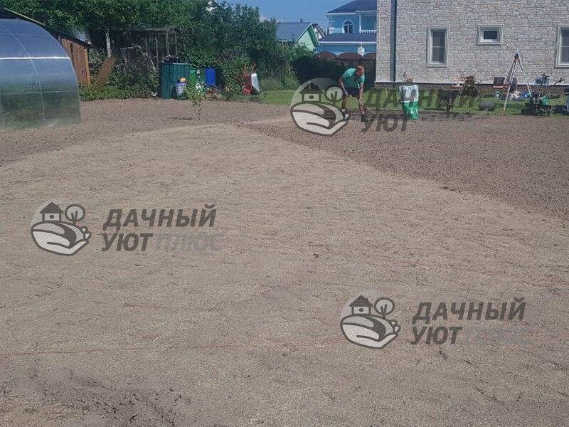 Подготовка участка под газон в Зеленограде