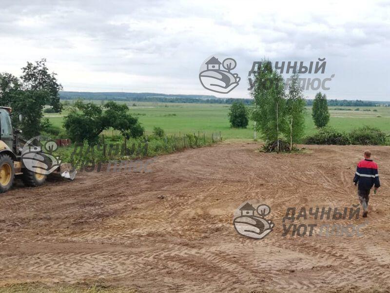 Расчистка и уборка участка в Можайске