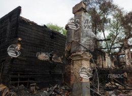 Демонтаж сгоревших домов