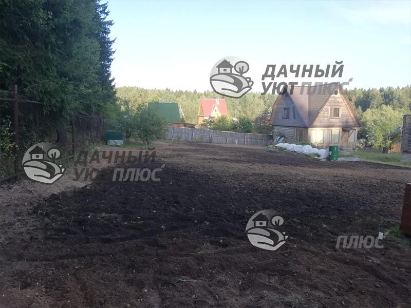 Выравнивание участка в Электрогорске