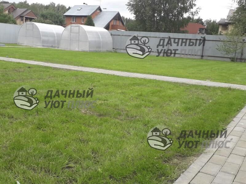 Устройство посевного газона в Щелково