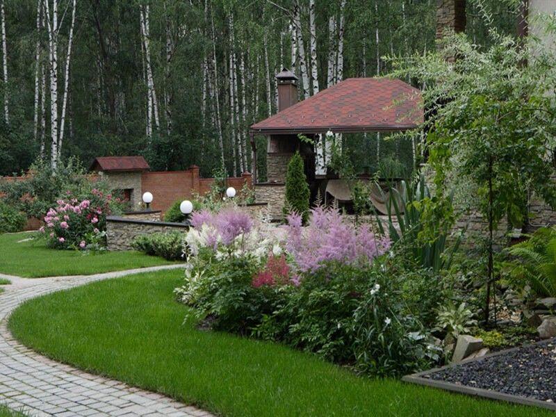 Ландшафтный дизайн классического стиля
