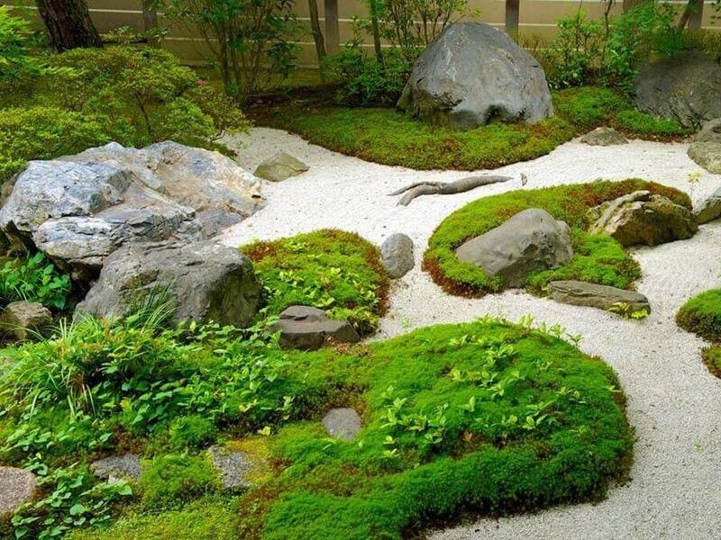 Японский стиль сада