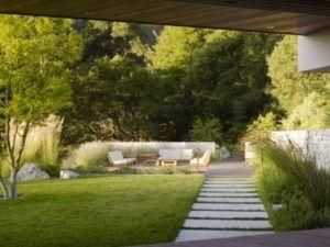 Сад в стиле минимализма