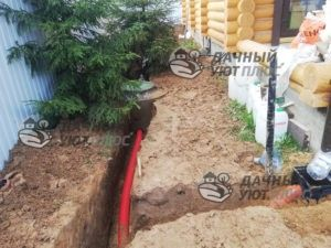 Монтаж ливневой канализации на участке