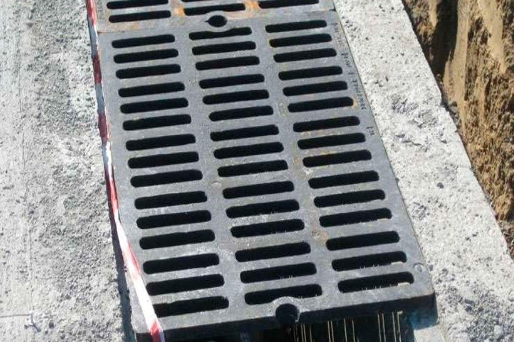 Решетки ливневой канализации