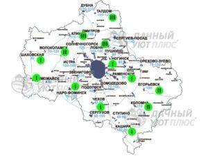 Глубина промерзания грунта в климатических зонах Московской области