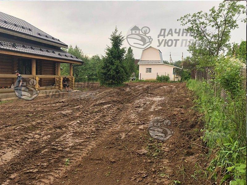 Выравнивание участка Ильинское-Усово