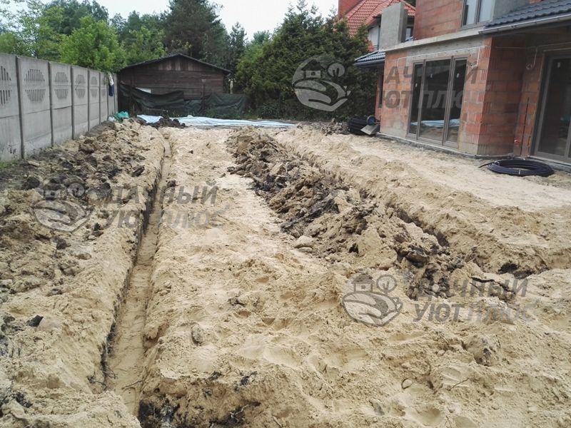 Монтаж ливневой канализации и дренажа Бабаиха