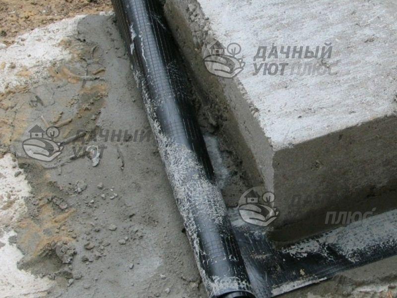 Гидроизоляция конструкции из пеноблока